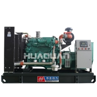 China 150kw Fuel Less 110/220 Volt Electric Industrial Gas Generator India Price on sale