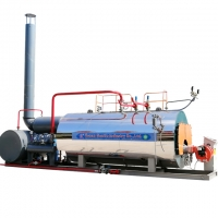 2Ton 2000kg 150Psi Industrial Diesel Oil Fired Steam Boiler for AAC Steam-Cured Brick Production Line