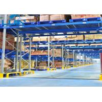 China Workshop Pallet Racking Systems , Bridge Type Heavy Duty Storage Shelves wholesale
