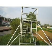China Cold Formed Jointing System Scaffold Platform / High Tensile Aluminum Scaffolding TUV GS on sale
