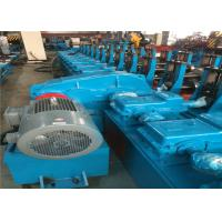 China Mild Steel Sheet CNC Roll Forming Machine 380V 50HZ Passive Decoiler Hydraulic Oil wholesale