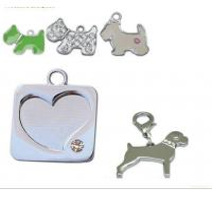 China .hanging Dog /pet Tags.paw/dog/bone Tags . Necklace Pendants . wholesale
