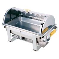China High quality Economy Roll top oblong chafing dish wholesale