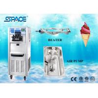User Friendly Commercial Ice Cream Making Machine , Soft Serve Ice Cream Maker