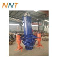 China 150 HP submersible pumps pond dredging pump submersible slurry pump for sale on sale