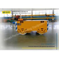 China Heavy Duty Pallet Transfer Carts , Flatbed Rail Transfer Trolley For Steel Plant on sale
