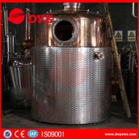 China SS Commercial Distilling Equipment Rum Vodka Whiskey Brandy Distillery Equipment wholesale