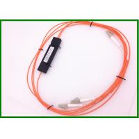 China Orange Multimode Fiber Coupler 1*2 OM1 fiber Ratio 30/70 , RoHS Approval wholesale