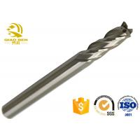 China 1 Inch Solid Carbide Corner Radius End Mills High Precision Round Cutting Tool wholesale