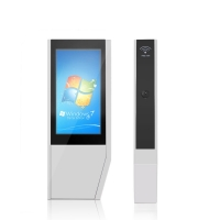 """China 3600W 4000cd/m2 FHD 55"""" Interactive Touch Screen Kiosk wholesale"""