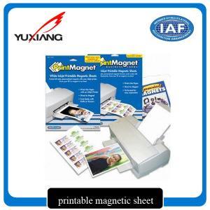 Premium Inkjet Printable Flexible Magnetic Sheet Environmental Friendly