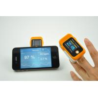 China OLED Screen Handheld Finger Portable Pulse Oximeter With Bluetooth wholesale