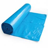 China Blue Dustbin Carry Bag , Extra Large Rubbish Bags Heat Seal 120L 70*110cm wholesale
