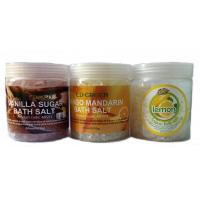 China OEM Natural Moistening And Relexing SPA Bath Salts / Shower Salt for Women wholesale