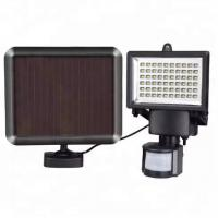 Buy cheap 180 Degree Sensor Area Solar Sensor Wall Light With 100 LEDS 8-15m CE Approved from wholesalers