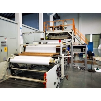 China 150gsm 160cm Non Woven Fabric Manufacturing Machine For Air Filltration wholesale