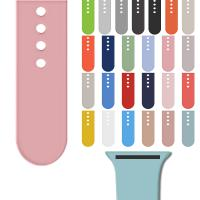 China For Apple Watch Band For Apple Watch Strap Silicone Sport Smart Watch Band Accessories 38mm 42mm WhatsApp +1 7082690275 on sale