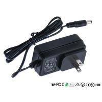 China Wall Mount Power Adapter Single Output US EU UK Plug AC DC Adaptor 12v 0.8a 800ma on sale