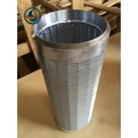 China Various Material Deep Well Screen , Well Pump Screen Large Open Area wholesale
