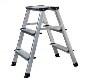 China Professional  Aluminum Step Stool   GS 2x3 Steps Aluminium Foot Stool wholesale