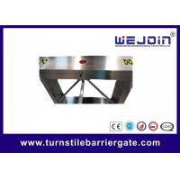 Buy cheap Self Locking Turnstile Barrier Gate 30~40 Persons / Min Traffic Light Indicator from wholesalers