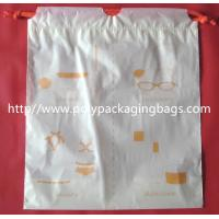 Small Packaging Poly Bags , Drawstring Pouch Bags 2 Colors Gravure Printing