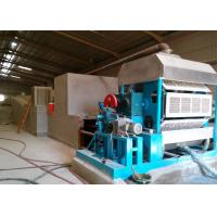 4000 Pcs / H Brick Dryer 90 KW Pulp Molding Machine