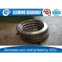 China No Gear Excavator Slewing Ring Bearing With Large Load Bearing Capacity on sale
