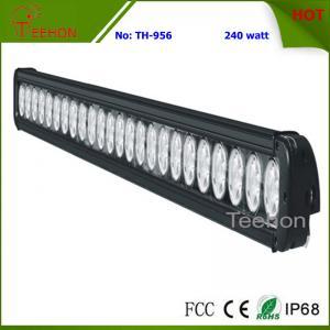 China 240 Watt 40 Inch Single Row CREE LED Light Bar for ATV, UTV and Trucks on sale