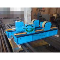 China Lead Screw Adjustment Tank Turning Rolls , Digital Speed Display Pipe Welding Stands wholesale