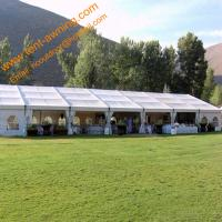 China Mobile Aluminum Marquee Wedding Party Tent Assembled Rainproof Event Tents wholesale