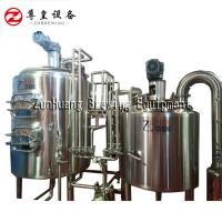China 500L Nano Brewing Systems Combination Design , Easy Brew Ss Brewtech Electric Brewing System on sale
