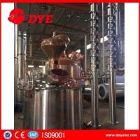 China copper mini home laboratory alcohol distillation equipment apparatus wholesale