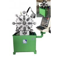 China 380V Computerized Wire Bending Machine With 1 KW Cutter And Angle Rotor wholesale