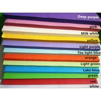 China Bright Navy Blue Multi Coloured A4 Paper , Legal Size Colored Paper For Students wholesale