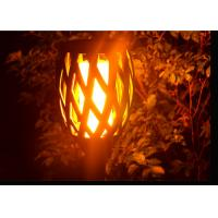 China Flickering Solar Led Garden Lights With Dance Flame For Pathway Yard Decoration on sale