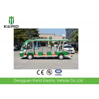 Buy cheap New Energy 72V DC Motor 14 Seater Electric Passenger Vehicles With CE Certificat from wholesalers