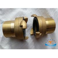 China Marine Brass International Shore Connection With Bolts , Nuts , Washers And Gaskets wholesale