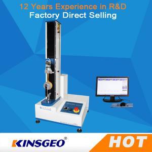 China PC Control Tensile Testing Equipment , Tensile Strength Instrument KJ-1065B on sale