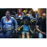 China 6D Film 6D Movie Theater With Leg Tickle , Vibration , Push Back Function wholesale