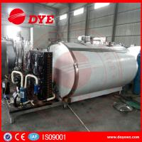 China Horizontal 200L Stainless Milk Cooling Tank Trailer Safety Prevents Bacteria From DYE wholesale