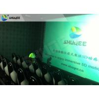 China Surreal Vision 9D Movie Theater Electric Motion System Immersive Experience For Audiences wholesale