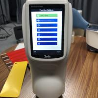 China NS 800 3nh Handheld Color Spectrophotometer BYK 6801 To Check Delta E Value wholesale