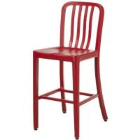 Details Of Red Contemporary Emeco Navy Counter Stools Replica Kitchen Stool