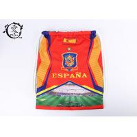 China Espana National Team Printed Drawstring Backpack Promotional England Gym wholesale