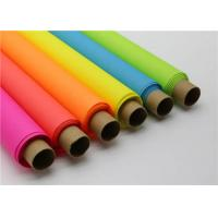China Neon Colour Wax Paper For Flower Wrapping wholesale