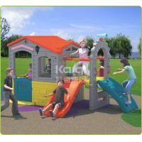 China Small Plastic Preschool Playground Equipment With Slide Plastic Toys For Kids wholesale