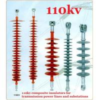 Quality EHV DC Transmission Line Long Rod Insulators Composite Polymer 110kv for sale
