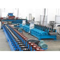China Flying Cutting C Channel Roll Forming Machine , 15-30m/min Channel Rolling Machine wholesale