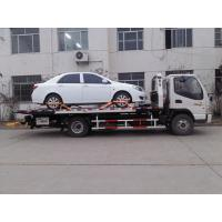 China Flatbed Wrecker Tow Truck wholesale